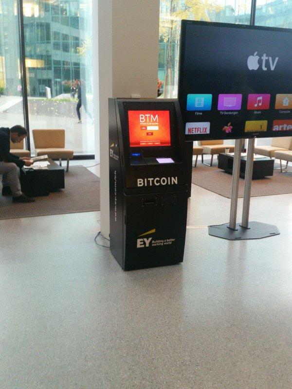 Bitcoin atm in zurich