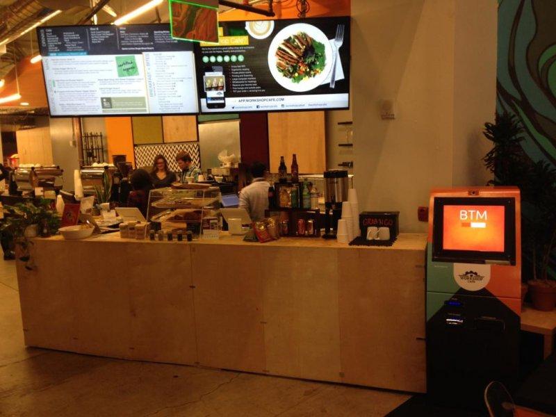 Bitcoin Atm In San Francisco Workshop Cafe