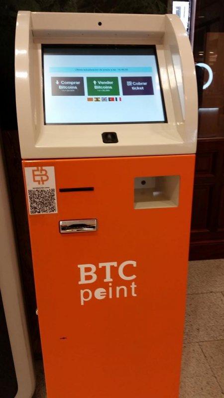 bitcoin atm machine in madrid at abc serrano