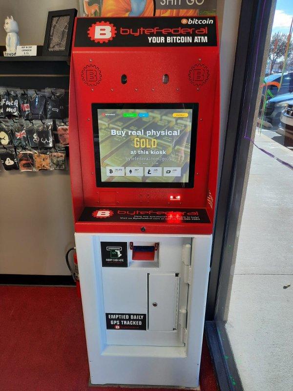 Bitcoin ATM in St. Augustine - Draggin Vapors