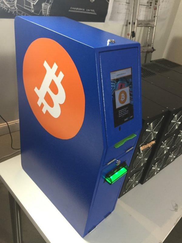 Bitcoin D.A.V.E. cryptocurrency ATM machine producer