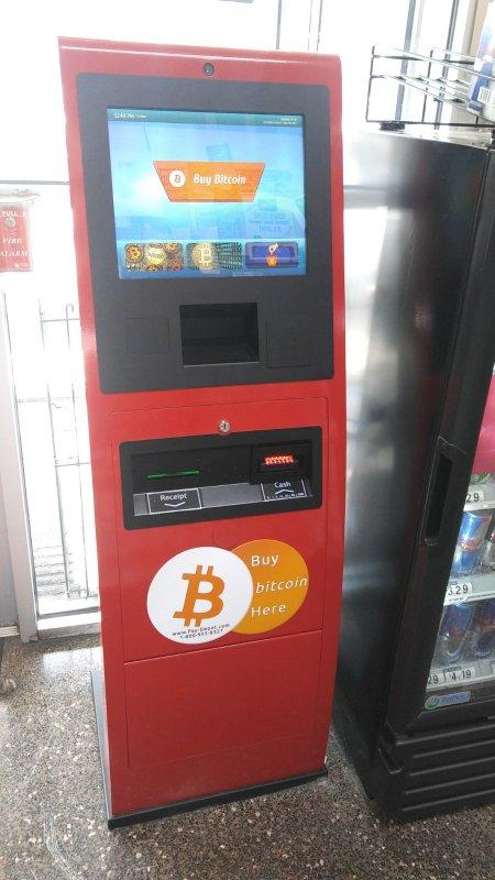 Bitcoin cardtronics atm