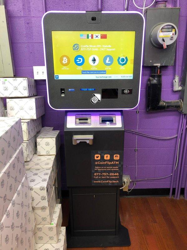 Bitcoin ATM in Nashville - Smoke Token Smoke Shop