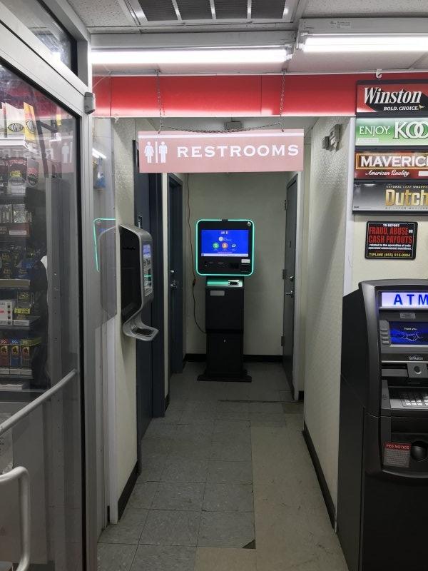 Bitcoin Atm In Atlanta Shell Gas Station