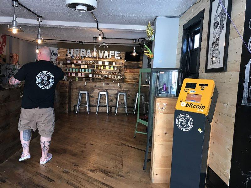 Bitcoin ATM in Frederick - Urban Vape