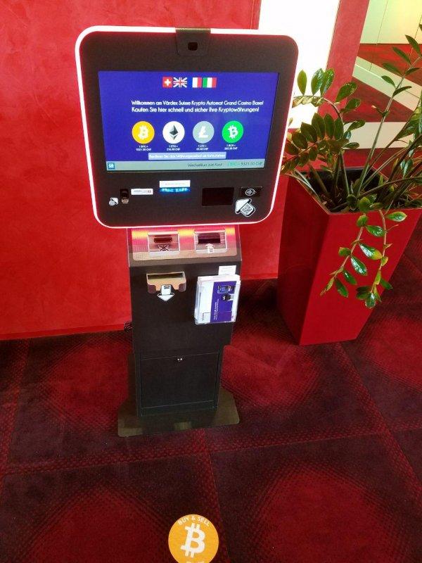 Bitcoin ATM in Basel - Grand Casino Basel