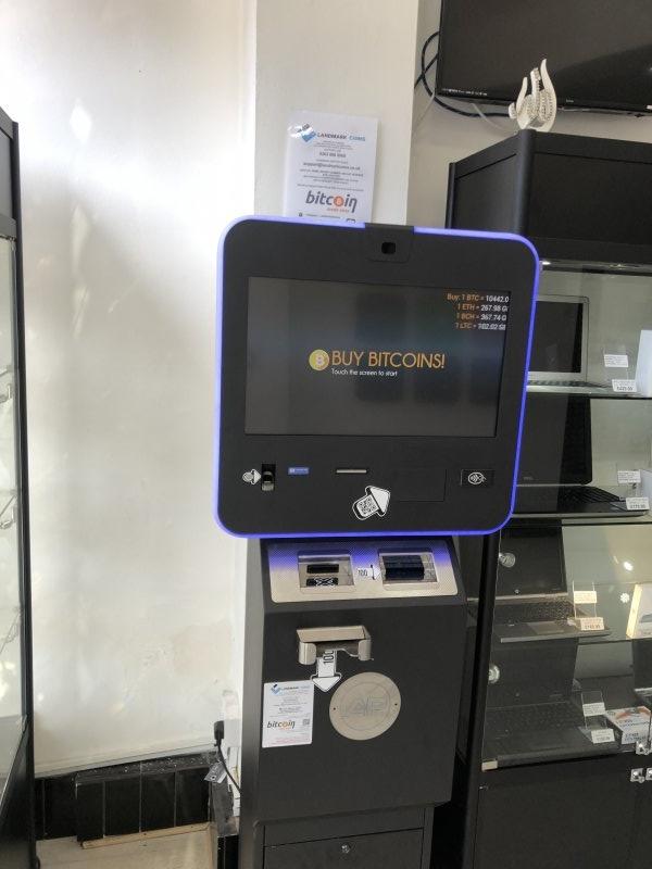 bitcoin vending machine london)