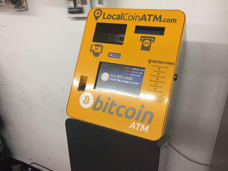 bitcoin macchina downtown toronto)