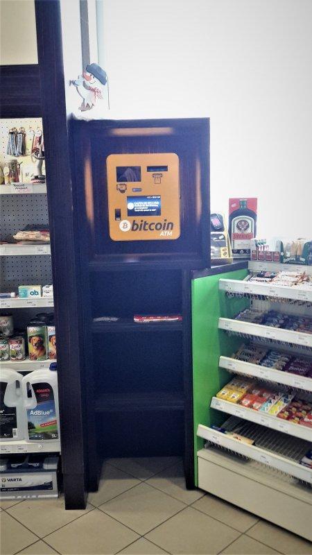 Bitcoin Tankstelle