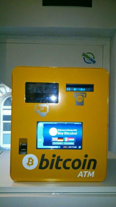 Bitcoin ATM in Ghent - Gameswap