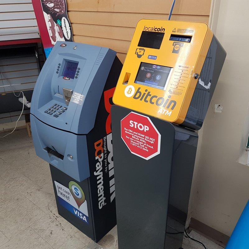 bitcoins atm brampton