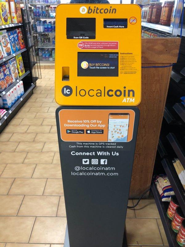 bitcoin atm harsty market)