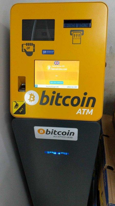 bitcoin london atm începeți tranzacționarea în bitcoin