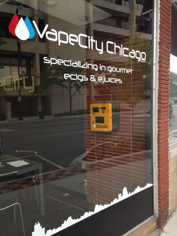 Nearest Shell Gas Station >> Bitcoin ATM in Skokie - VapeCity Chicago