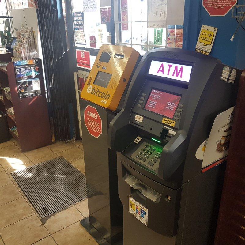 Carte Bitcoin Canada.Bitcoin Atm In Brossard Depanneur Proprio