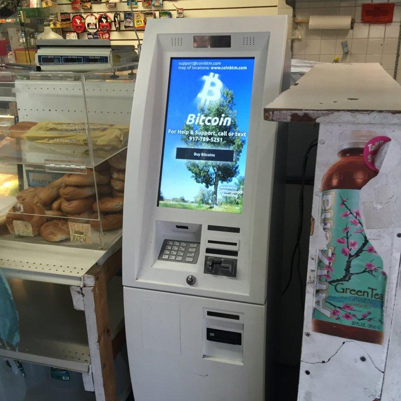 Bitcoin ATM in Brooklyn - KH Minimart