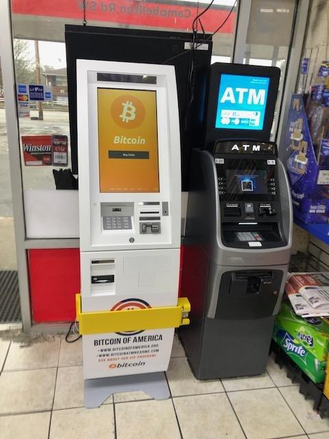 Bitcoin ATM in Atlanta - Texaco Gas Station