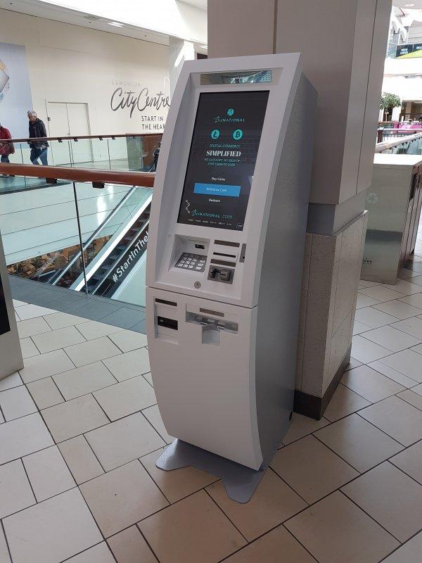 Bitcoin Atm In Edmonton Edmonton City Centre