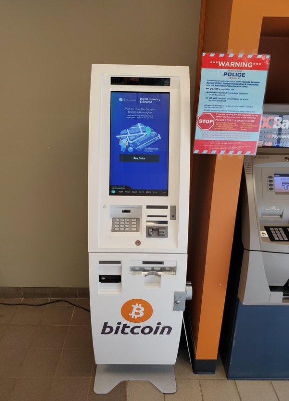 bitcoin atm centro commerciale edmonton west