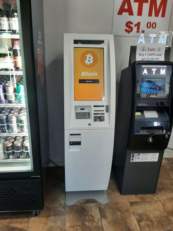 ATM-urile bitcoin instalate în magazine devin tot mai multe si mai populare