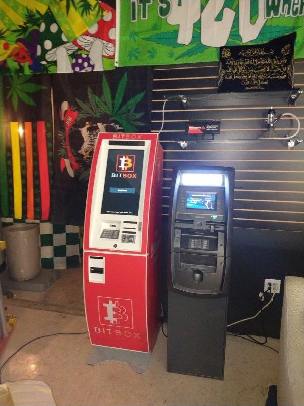 Bitcoin ATM in Houston - HTX Smoke Shop