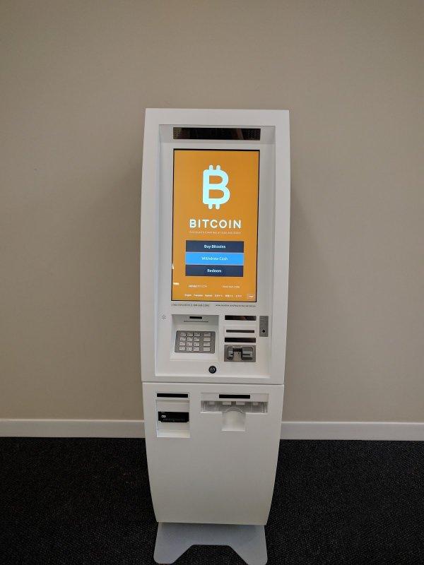 Numărul bancomatelor bitcoin s-a dublat într-un an