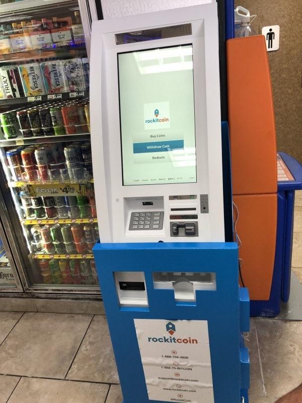 Bitcoin ATM in Houston - Chevron