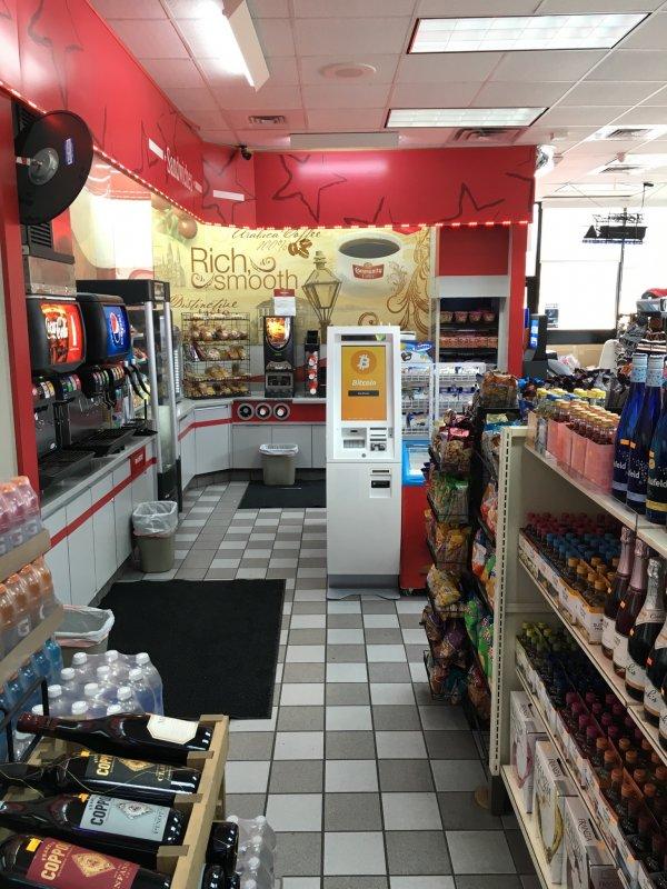 Nearest Chevron Gas Station >> Bitcoin ATM in Dallas - Chevron Gas Station