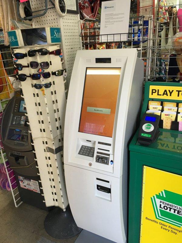 Bitcoin ATM in Philadelphia - Million Dollars