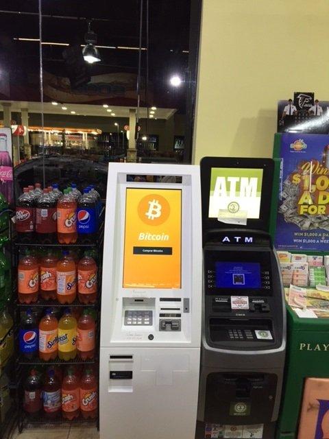 Bitcoin ATM in Marietta - Texaco Gas Station