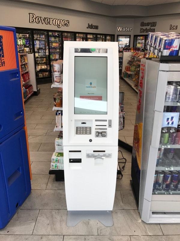 Bitcoin ATM-Maschine in Houston Texas