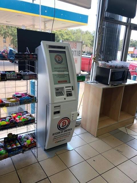 Bitcoin Atm In Houston Valero Gas Station