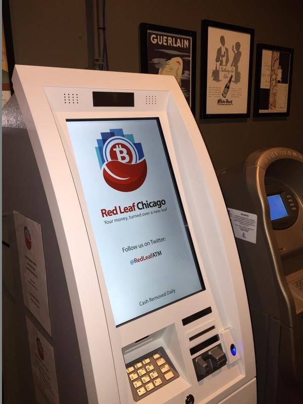 Bitcoin ATM in Chicago - Atlas Brewing Company