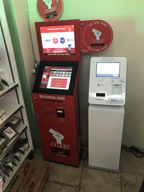 Nearest Chevron Gas Station >> Bitcoin ATM in Miami - Milagrosa Super Market