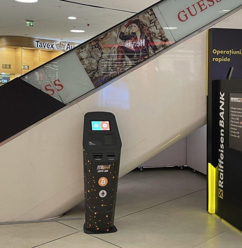 Cumpara Bitcoin sau vinde Bitcoin rapid si sigur la Bitcoin ATM-urile noastre din Romania!