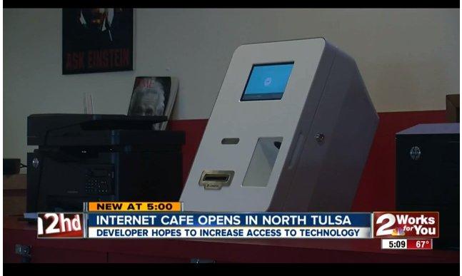 Bitcoin ATM in Tulsa - Net Room