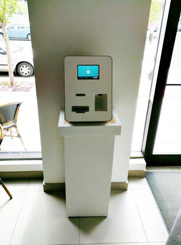 Bitcoin ATM in Calgary - Café Blanca