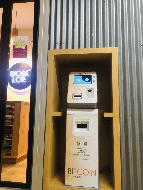 Bitcoin ATM vicino Singapore