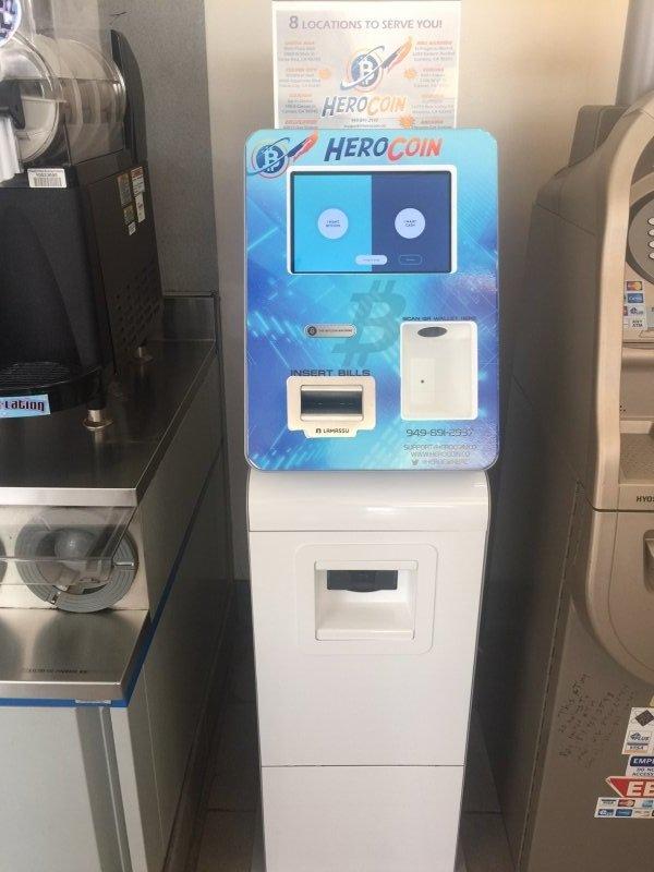 Bitcoin ATM in Arcadia - Chevron Gas Station