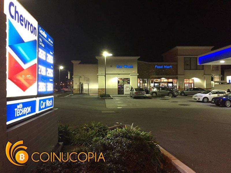 Bitcoin ATM in San Jose - Chevron Gas Station