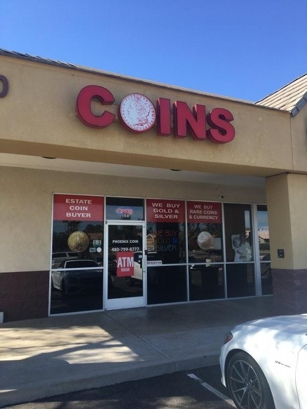 nearest coin shop