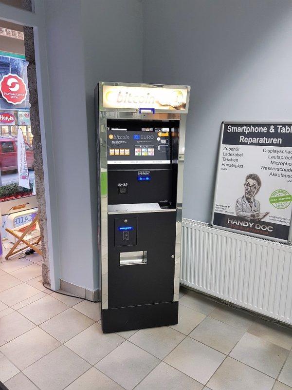 Bitcoin Automat österreich