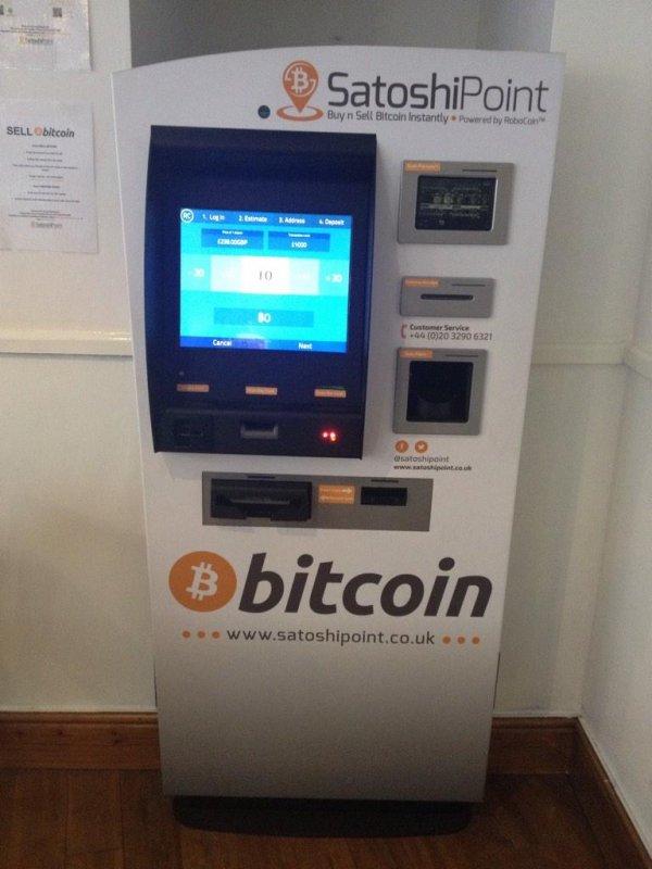Open source bitcoin atm