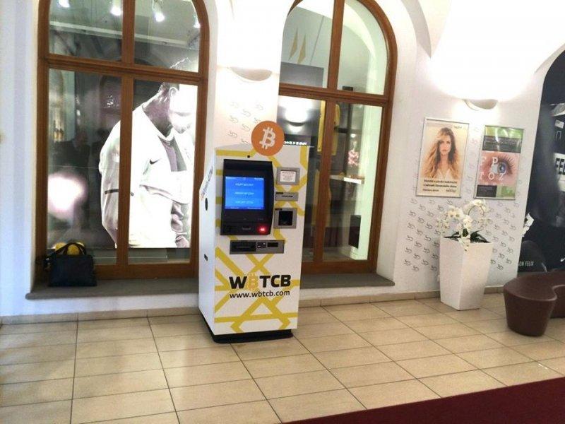Bitcoin ATM Prague