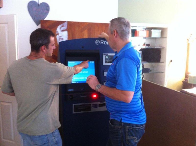 Robocoin Bitcoin ATM Hague, Netherlands