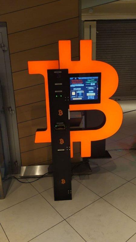 Bitcoin ATM vicino Roma