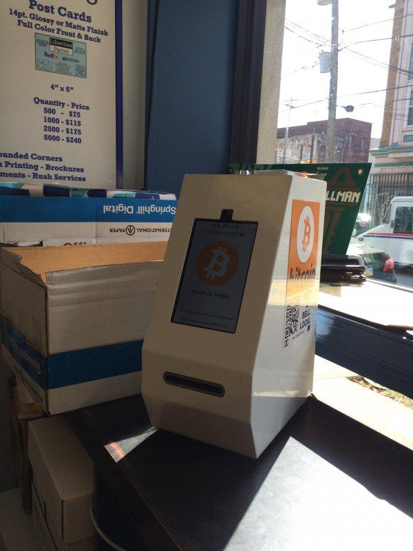 Skyhook Bitcoin ATM In Philadelphia At Liberties Parcel
