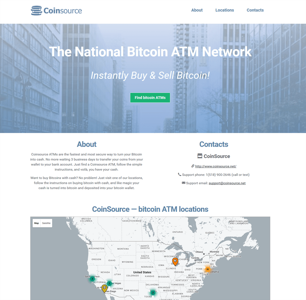 Featured Operators Every Bitcoin ATM