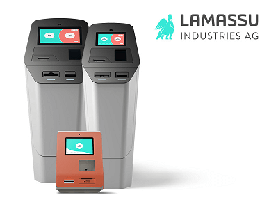 Lamassu cryptocurrency ATM machine producer