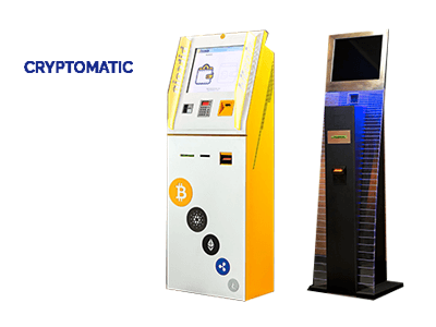 Cryptomatic cryptocurrency ATM machine producer